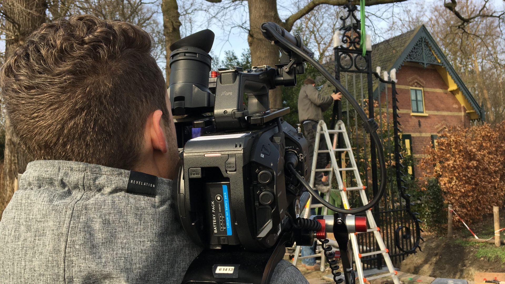 Opnames commercials voor erfgoedopleidingen in volle gang