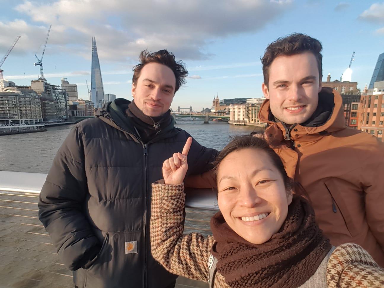 Recce (locatiebezoek) voor nieuwe korte film in Londen